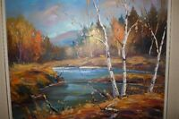 """Tableau Raynald Leclerc 30""""x24"""" painting"""