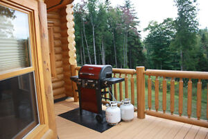 Chalet to rent in the Laurentiens valley - St Sauveur  Log house Cornwall Ontario image 8