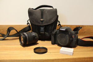 Canon T3i+ objectif 18-55