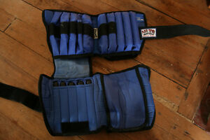 Adjustable leg Weights - All Pro upto 20 lbs (2 Sets) - $75