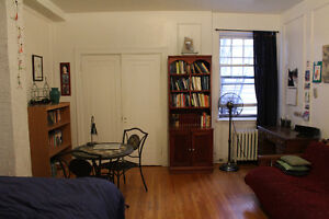 Studio Sublet in NDG (27 May-15 January)