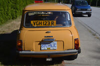 1976 Mini Cooper only 2 owners