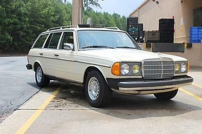1981 mercedes benz 300td turbo diesel wagon used for Mercedes benz diesel wagon for sale