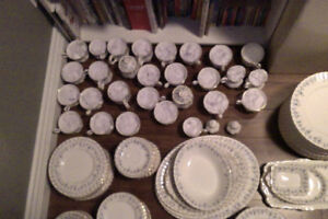 China Set, Over 100 pieces!