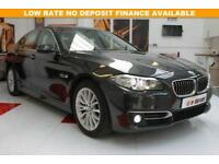 2015 15 BMW 5 SERIES 2.0 520D LUXURY 4D AUTO 188 BHP DIESEL