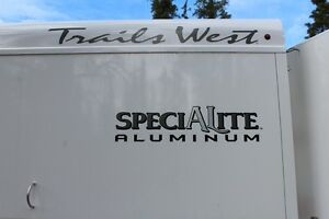 2013 Trails West Specialite Aluminun 3 horse