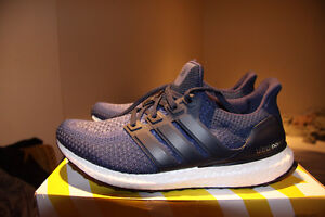 Brand New Size 10 Navy Blue Ultra Boost