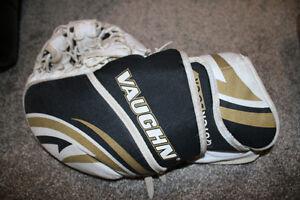 Vaughn Street Hockey Gear - goalie pads, glove and blocker