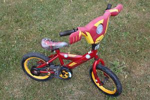 Boys 14 inch Iron man Bike