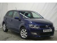 2013 Volkswagen Polo MATCH EDITION Petrol blue Manual