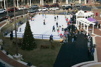 Synthetic Skating Rink Event Rentals