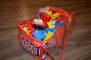 Collection of First Builders Mega Blocks