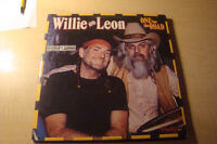 Willie Nelson lp collection