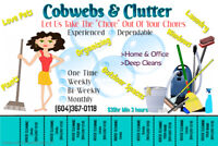 HOME ,OFFICE & B&B CLEANING & ORGANIZING SPECIALIST