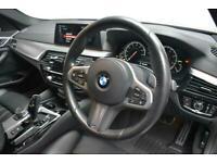2017 67 BMW 5 SERIES 2.0 520D M SPORT 4D 188 BHP DIESEL