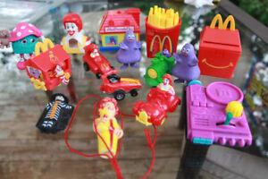 Lot of Vintage McDonald's Toys