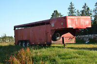 For Sale: Stock Trailer