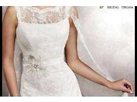 Gorgeous Agnes classic lace wedding dress size 12/14
