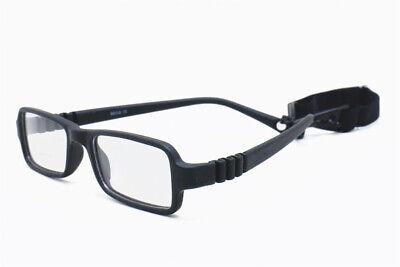 Kids Glasses Frame Boys Girls Bendable Eyeglasses with Strap Flexible 41 (Kids Glass Frames)