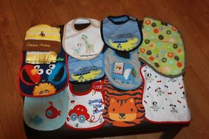 Boys Bibs New without Tags