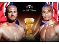 Groves v Eubank tickets - World Boxing Super Series