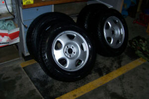 New Snow Tires and Rims- 235/60/17, Bridgestone-Blizzak, WS80