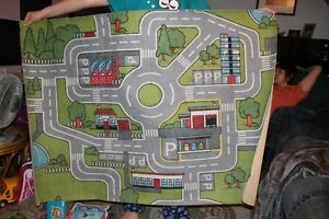 car carpet for kids to play hotwheels cars