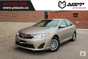 2014 Toyota Camry LE No Accident   Snow Tire   Camera