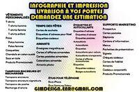 INFOGRAPHIE - IMPRESSION - LIVRAISON