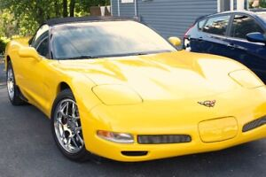 2004 Automatic C5 Convertible Corvette Millennium Yellow show ca