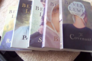 5 books from Beverly Lewis., the Abrams Daughters series,