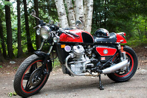 1980 one of a kind honda CX 500 cafe racer