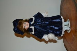 12 inch Avon collectable porcelain dolls