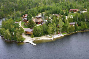 Camp Quetico 845' on Eva lake on 6.25 acres E of Atikokan