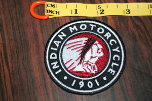 Retro Indian Penny Head Motorcycle Patch