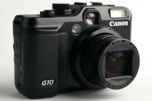 Canon Powershot G10 with Canon WP-DC28 Waterproof Case