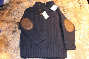 NEW BOYS GAP SWEATER - 2T