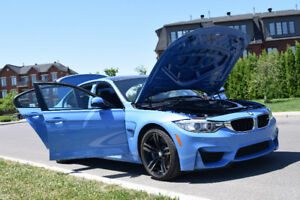 2017 BMW M3, Manuel 6 vitesses