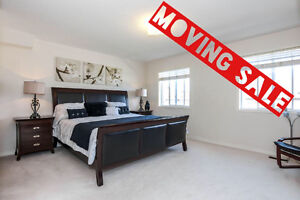 MOVING SALE! MUST-GO!!! High-end Italian. Bed sets, Mattresses.