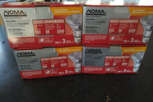 Noma 39W PAR20 Halogen Light Bulbs, Soft White