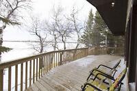 Great Cabin Lake Front at Martin's Lake!!