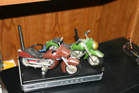 2 COOL ANTIQUE LOOKING MOTORCYCLES/TOYS