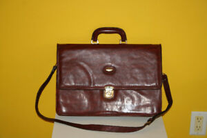 Marchino Leather Briefcase