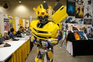Invite Bumblebee to your next birthday party or special event..