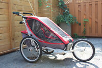 Single Chariot with bike/jogging hardware