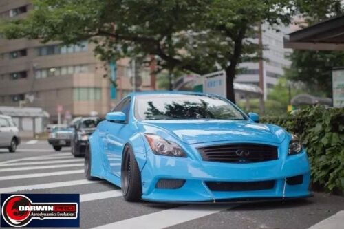 2007-2015 G37 2DR Coupe DP Style Front Bumper Body Kit W/ Lip For Infiniti