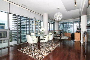 Huge One Bed w/ Wraparound Balcony Parking Yonge And Bloor Oct.1