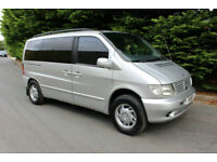 Mercedes-Benz V220 CDI AMBIENTE VITO AUTO DAY VAN CAMPER VAN 2000 AUTOMATIC, used for sale  Bacup, Lancashire