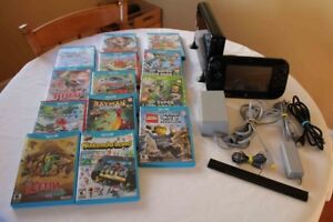 Wii U Console Controller and 13 Games
