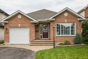 Barrhaven, 2 bdrm+den, 2 bath bungalow in heart of Chapman Mills